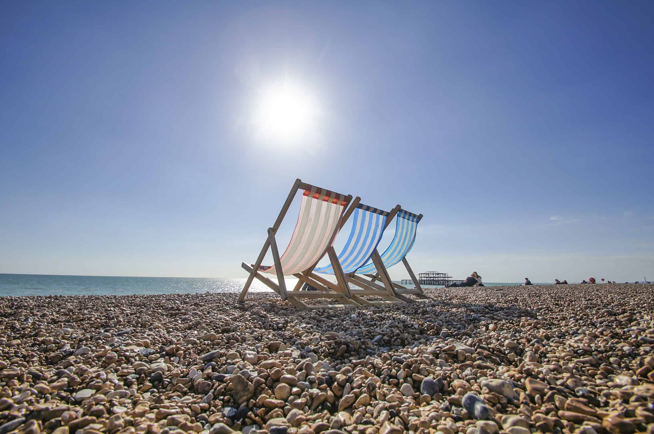Brighton Beach Deckchairs