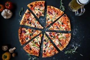 Holiday Inn Brighton Seafront Pizza