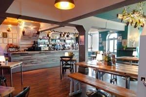New Madeira Hotel Brighton indoor bar area