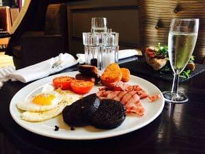 The Hilton Metropole Brighton Breakfast