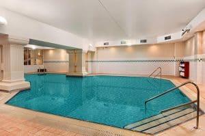 The Hilton Metropole Brighton swimming pool
